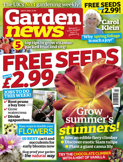 Garden News April 05, 2016 00:00
