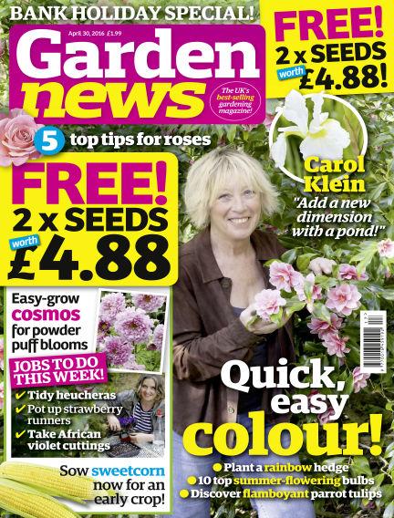 Garden News April 26, 2016 00:00