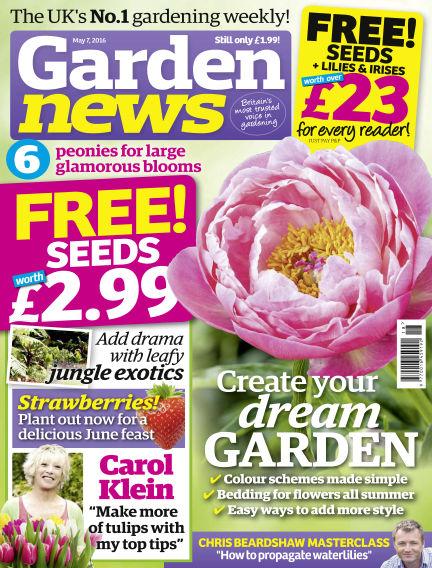 Garden News May 03, 2016 00:00