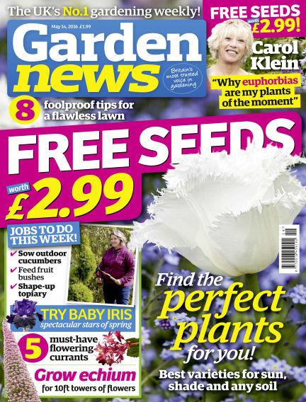 Garden News May 10, 2016 00:00