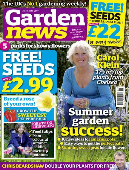 Garden News May 31, 2016 00:00