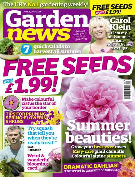 Garden News June 21, 2016 00:00