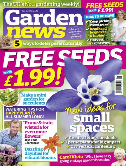 Garden News July 12, 2016 00:00