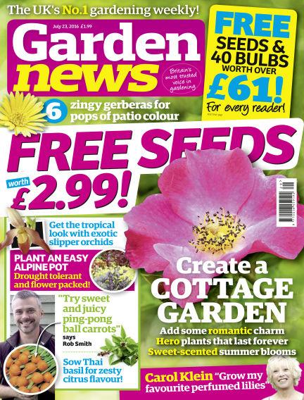 Garden News July 19, 2016 00:00
