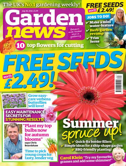 Garden News July 26, 2016 00:00