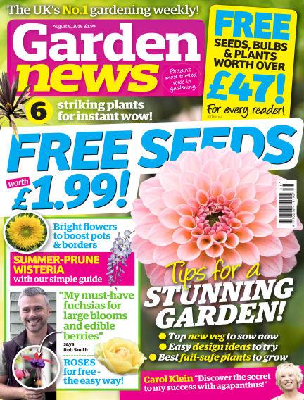 Garden News August 02, 2016 00:00