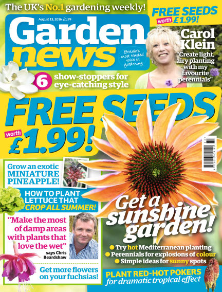 Garden News August 09, 2016 00:00