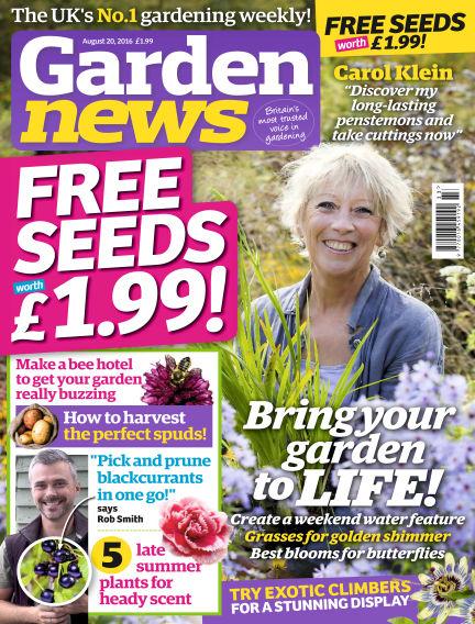 Garden News August 16, 2016 00:00