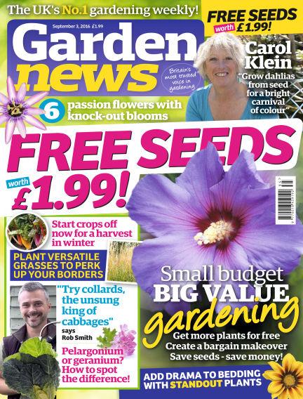 Garden News August 30, 2016 00:00