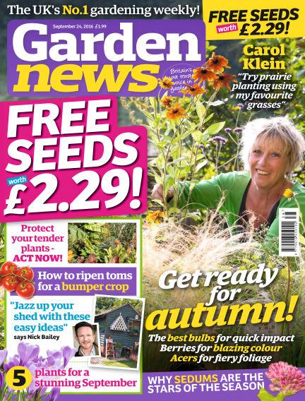 Garden News September 20, 2016 00:00