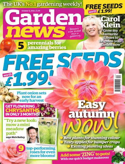 Garden News October 04, 2016 00:00