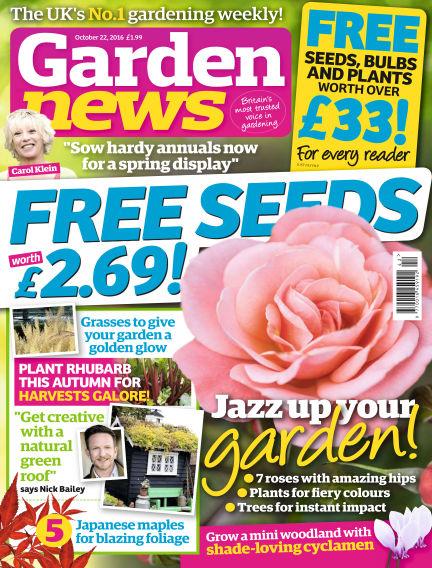 Garden News October 18, 2016 00:00