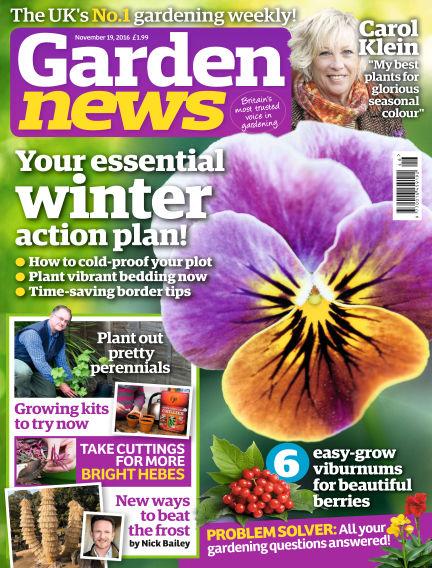 Garden News November 15, 2016 00:00