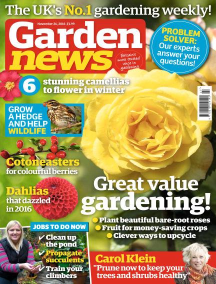 Garden News November 22, 2016 00:00