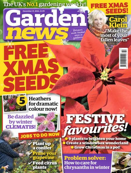 Garden News December 13, 2016 00:00