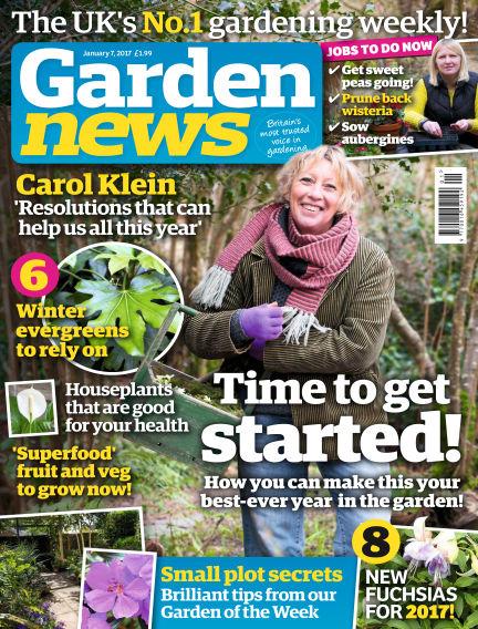 Garden News January 03, 2017 00:00