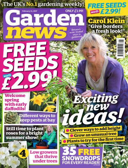 Garden News February 07, 2017 00:00