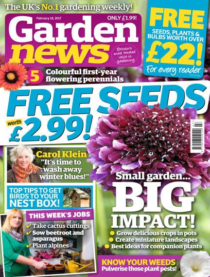 Garden News February 14, 2017 00:00