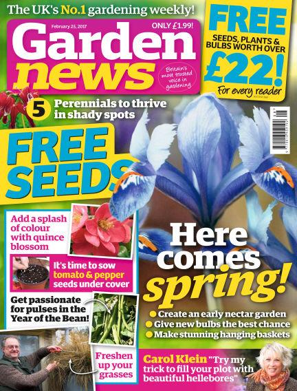 Garden News February 21, 2017 00:00