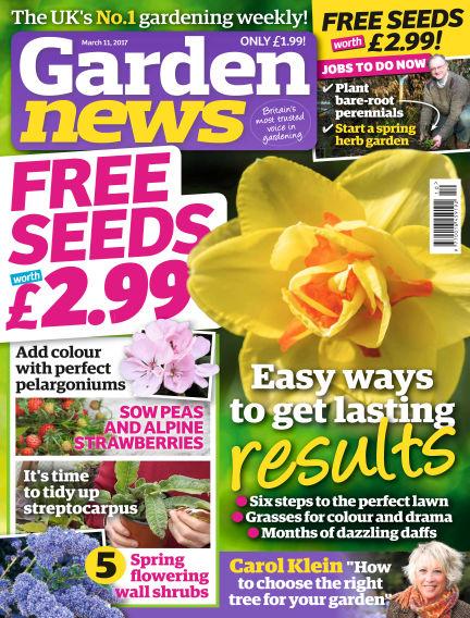 Garden News March 07, 2017 00:00