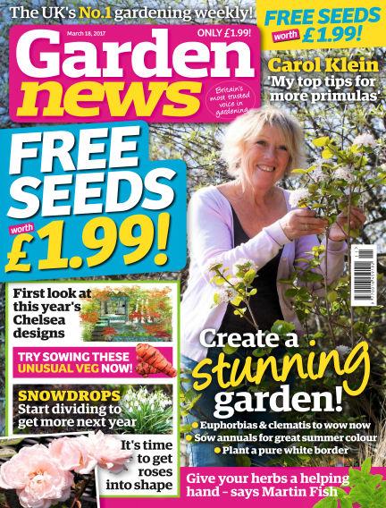 Garden News March 14, 2017 00:00