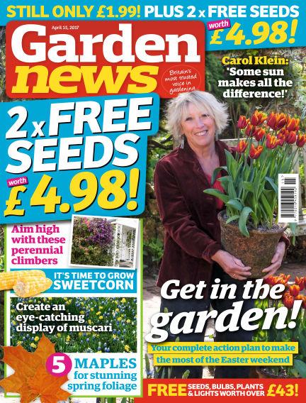 Garden News April 11, 2017 00:00