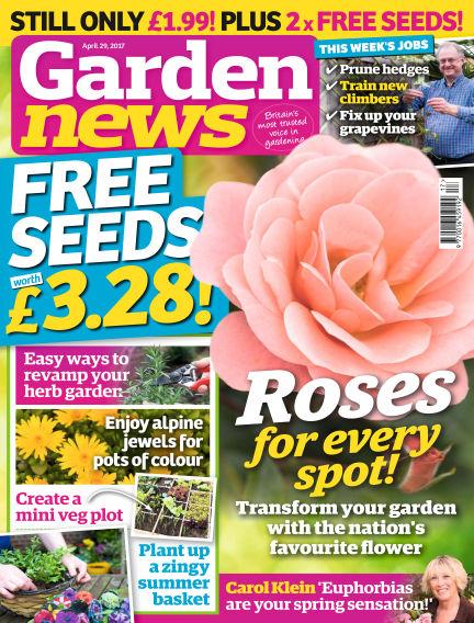 Garden News April 25, 2017 00:00