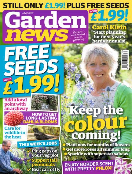 Garden News July 25, 2017 00:00