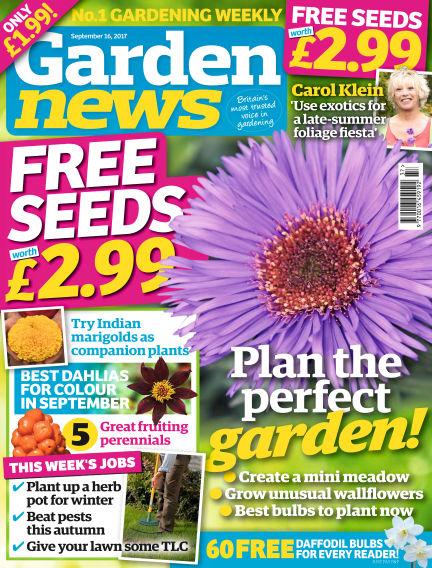 Garden News September 12, 2017 00:00