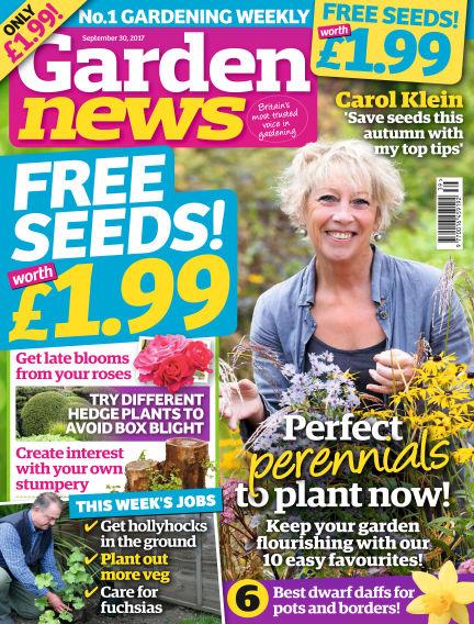 Garden News September 26, 2017 00:00