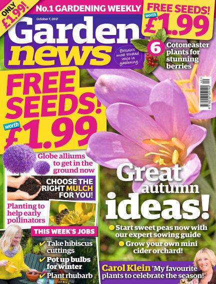 Garden News October 03, 2017 00:00