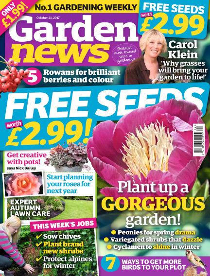 Garden News October 17, 2017 00:00