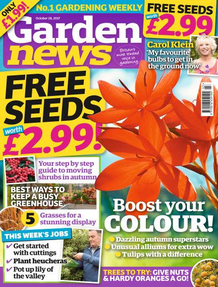Garden News October 24, 2017 00:00