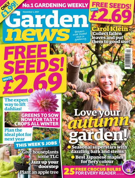 Garden News October 31, 2017 00:00