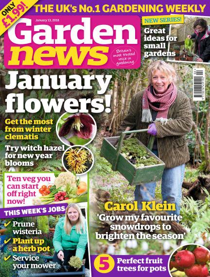Garden News January 09, 2018 00:00