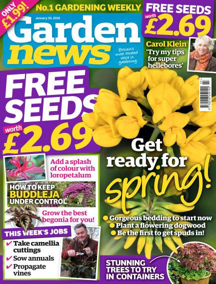 Garden News January 16, 2018 00:00