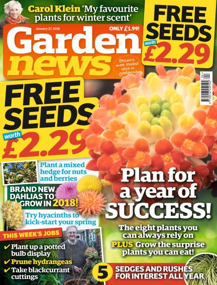Garden News January 23, 2018 00:00