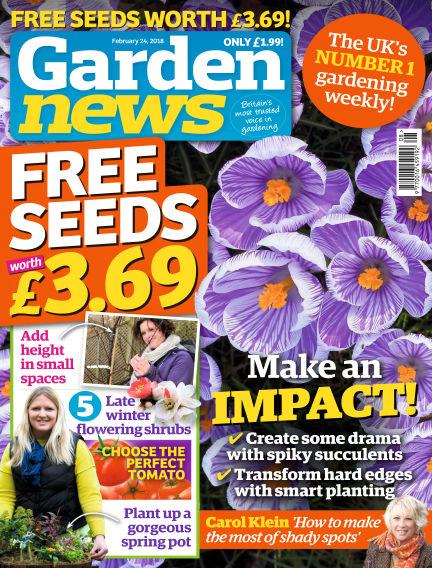 Garden News February 20, 2018 00:00