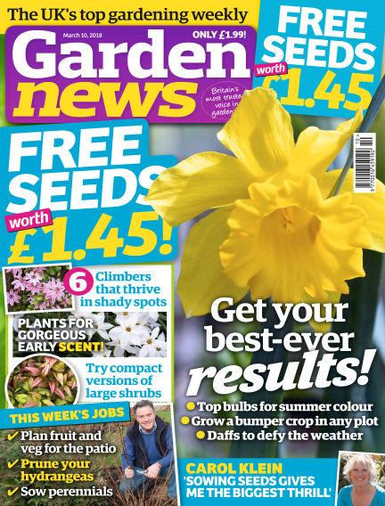 Garden News March 06, 2018 00:00