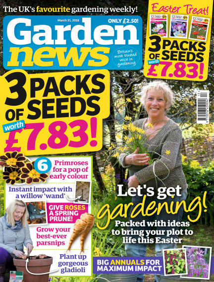Garden News March 27, 2018 00:00