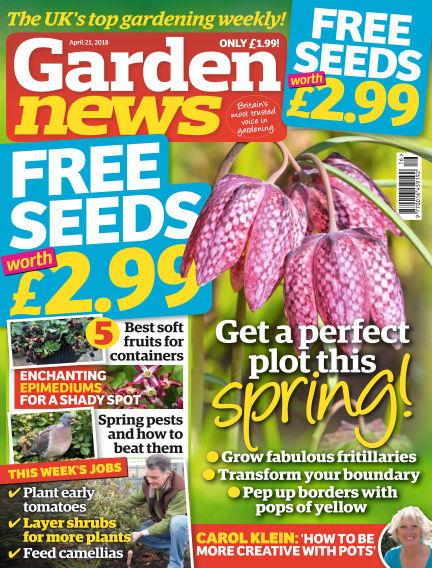 Garden News April 17, 2018 00:00