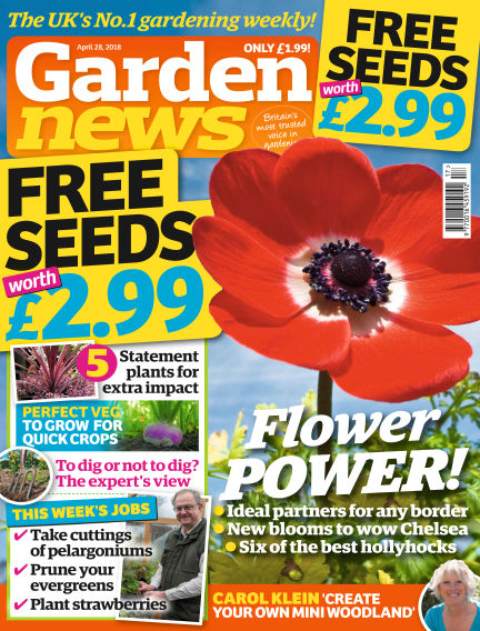 Garden News April 24, 2018 00:00
