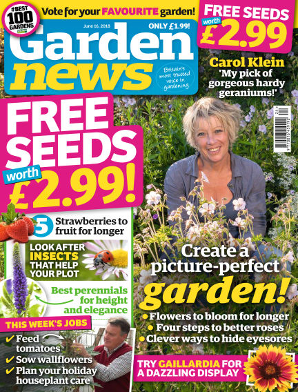 Garden News June 12, 2018 00:00