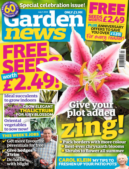 Garden News July 03, 2018 00:00