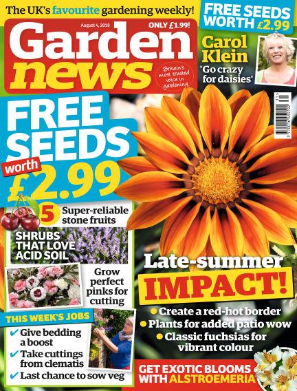 Garden News July 31, 2018 00:00