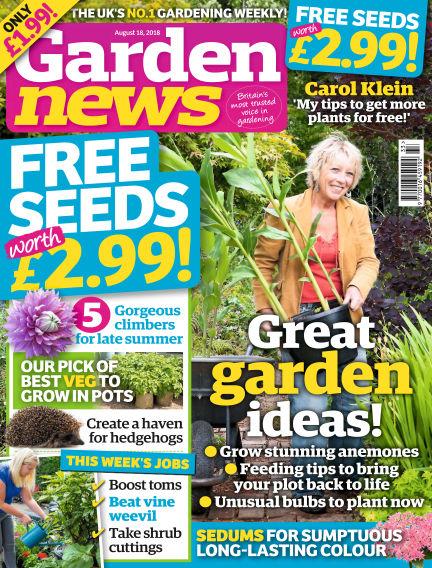 Garden News August 14, 2018 00:00