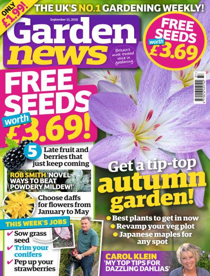 Garden News September 11, 2018 00:00