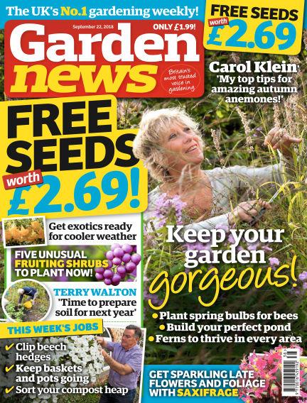 Garden News September 18, 2018 00:00