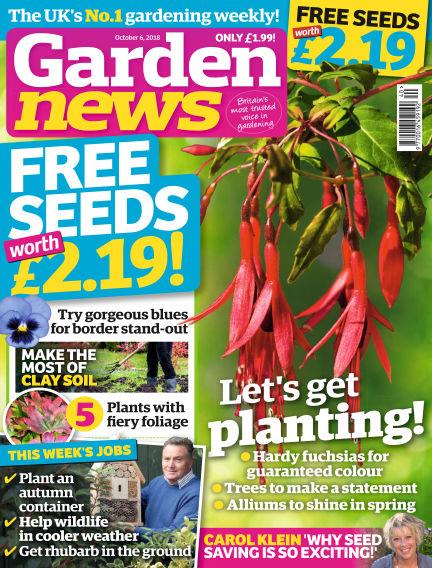 Garden News October 02, 2018 00:00