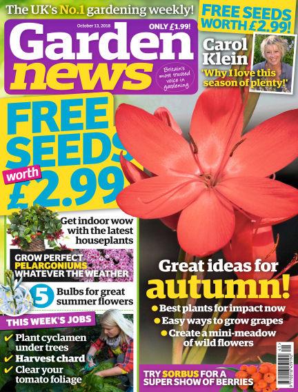 Garden News October 09, 2018 00:00